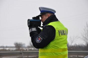 Od rana policjanci kontrolują prędkość na drogach