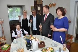Setne urodziny obchodziła pani Anny Walczak z Konina