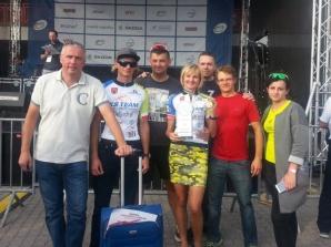 Kolarze Team Stare Miasto na Solid Skoda Bike Challenge