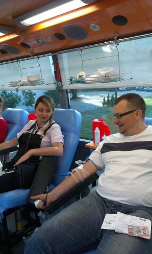 Wampiriada w Hutniczej. Uczniowie i nauczyciele oddawali krew