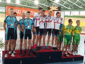 Sześć medali konińskich kolarzy na mistrzostwach Polski