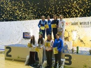 Sylwia Matuszak w najlepszej ósemce szabli na świecie!