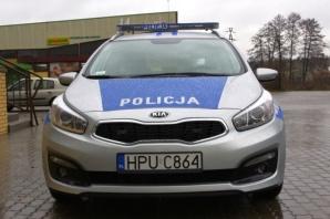 Gmina dofinansowała zakup nowego policyjnego radiowozu