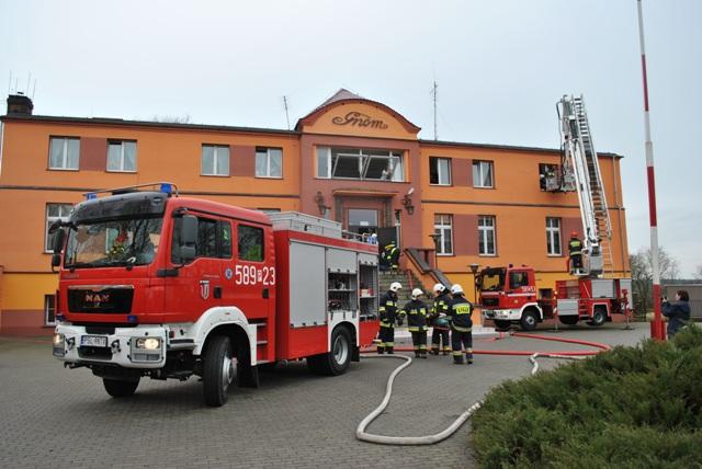 Ogień w Domu Pomocy Społecznej. Ewakuowano pensjonariuszy