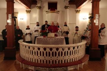 Księża i pastorzy wspólnie modlili się o Jedność Chrześcijan