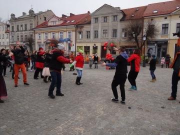 Konin zatańczył przeciwko przemocy wobec kobiet