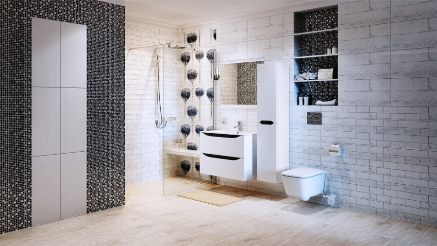 Idealna łazienka Na Wyciągnięcie Ręki