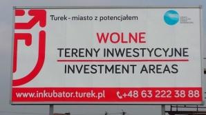 Na bilboardach promują Turecką Strefę Inwestycyjną