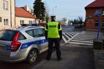 Policjanci kontrolowali prędkość kierowców w pobliżu szkół