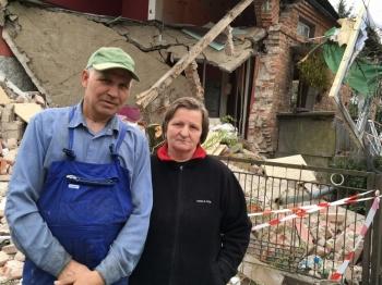 Chcą odbudować dom. Pomoc płynie, ale potrzeba jej więcej