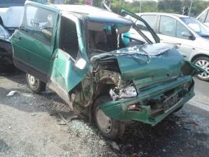 Konin. Zderzenie trzech pojazdów na ulicy Europejskiej