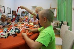 Przedszkolaki z Konina na warsztatach w turkowskim muzeum