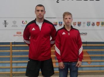 Pięściarz Zagłębia w półfinale Mistrzostw Polski Kadetów