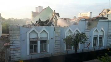 Konin. Wielkie burzenie domu talmudycznego rozpoczęte