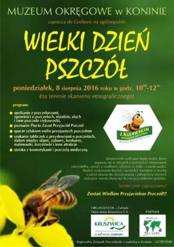 Pszczołoluby do Gosławic. Wielki Dzień Pszczół w konińskim muzeum