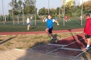 Lekkoatletyka na Europejski Tydzień Sportu w Gimnazjum nr 6