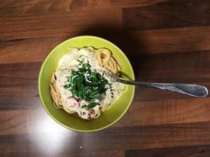 Mniam, mniam z LM.pl. Spaghetti z tuńczykiem w sosie śmietanowym