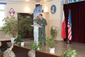 Do Powidza przyleciała pierwsza grupa amerykańskich żołnierzy