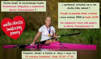 Popłyń dla WOŚP razem z wicemistrzynią olimpijską!