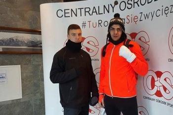 Dwóch pięściarzy Zagłębia na zgrupowaniu kadry w Zakopanem