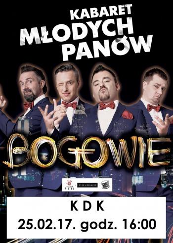 Kabaret Młodych Panów w KDK