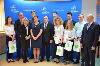 Laureaci olimpiady wiedzy konsumenckiej z powiatu konińskiego
