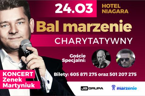 Już 24 marca Bal Marzenie i Zenek Martyniuk (Hotel Niagara)