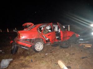 Nowa Wieś. Pociąg uderzył w stojący na torach samochód osobowy