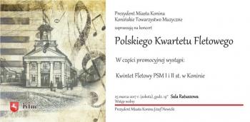 Koncert Polskiego Kwartetu Fletowego w ratuszu