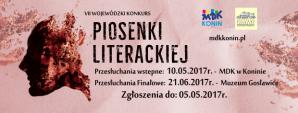 VI Wojewódzki Konkurs Piosenki Literackiej - przesłuchania