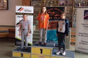 Dwóch pływaków, cztery medale. Iskra pływała w Bydgoszczy