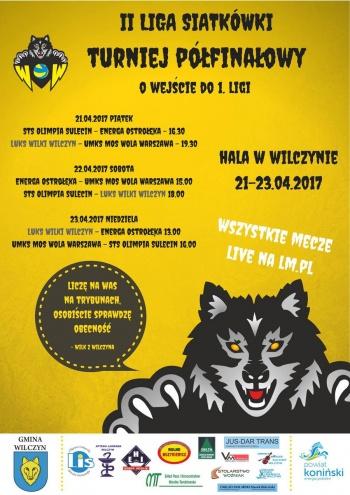 Siatkarski maraton w Wilczynie. Sześć meczów w trzy dni