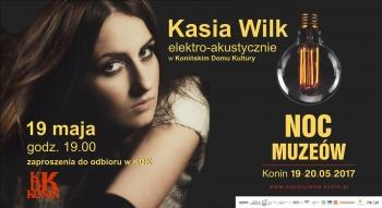 Kasia Wilk w KDK - Noc Muzeów