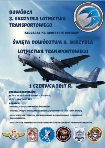 Otwarte koszary na święto 3. Skrzydła Lotnictwa Transportowego