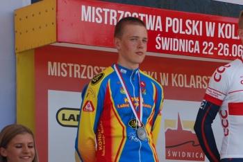 Kostański ze srebrem. Kolarze KLTC jeździli w Pucharze Polski