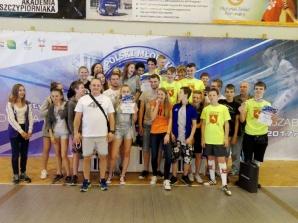 Męski zespół KKSz ze złotem na Mistrzostwach Polski Młodzików