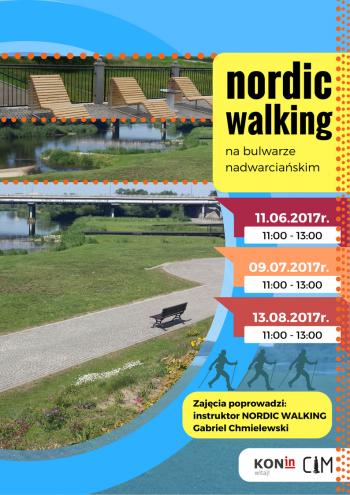 Nordic Walking na bulwarze nadwarciańskim