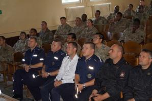 Powidz. Szkolenie z przepisów dla amerykańskich żołnierzy