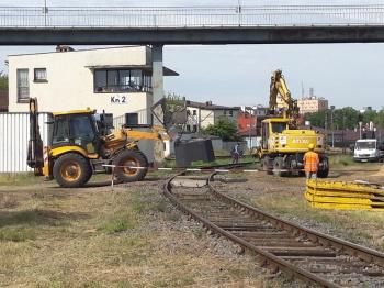 Prace idą zgodnie z planem. Od miesiąca trwa remont linii E-20