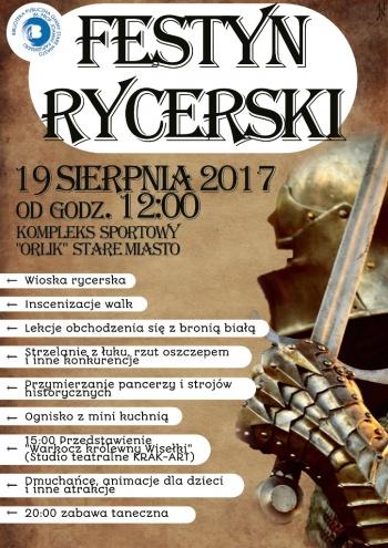 Festyn rycerski w Starym Mieście
