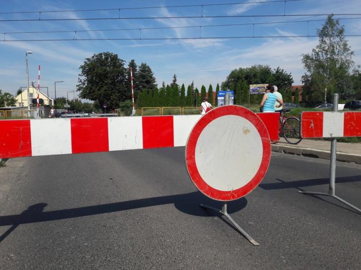 Konin. Zamknięty przejazd na ul. Okólnej. Obowiązują objazdy