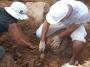 Rękawczyn. Młodzi archeolodzy badają kryptę grobową i wzgórze