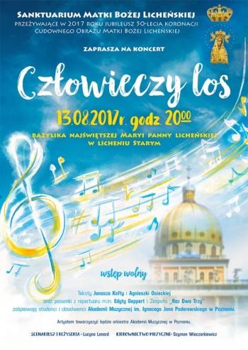 """Licheń. """"Człowieczy los"""", czyli koncert w 50 rocznicę koronacji"""