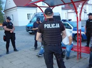 Wzmożone kontrole w Kole. Policjanci z Poznania patrolują miasto