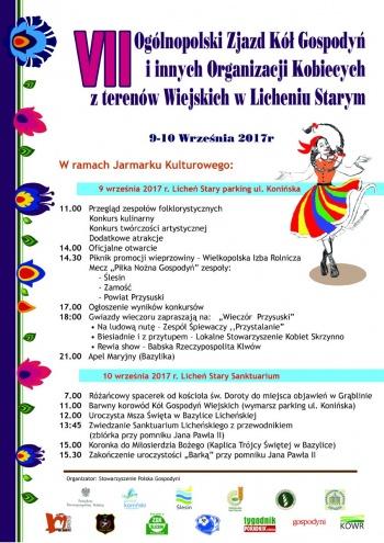 Licheń. Ogólnopolski zjazd kół gospodyń wiejskich w sanktuarium