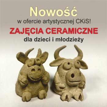 CKiS w Koninie czeka na Ciebie! Zapisz się na zajęcia artystyczne.