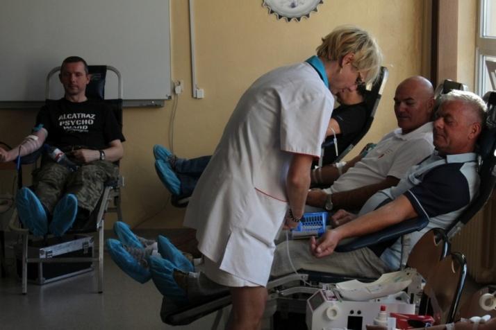 """W ,,Górniczej"""" oddali ponad 23 litry krwi dla potrzebujących"""