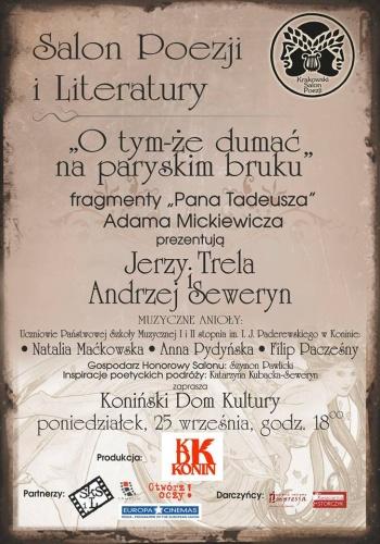 """W Salonie Poezji Jerzy Trela i Andrzej Seweryn i """"Pan Tadeusz"""""""