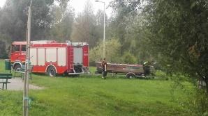 Strażacy pomogli łabędziowi. Ptak jest pod opieką specjalistów