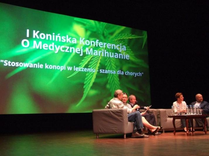 Po raz pierwszy w Koninie dyskutowali o marihuanie medycznej